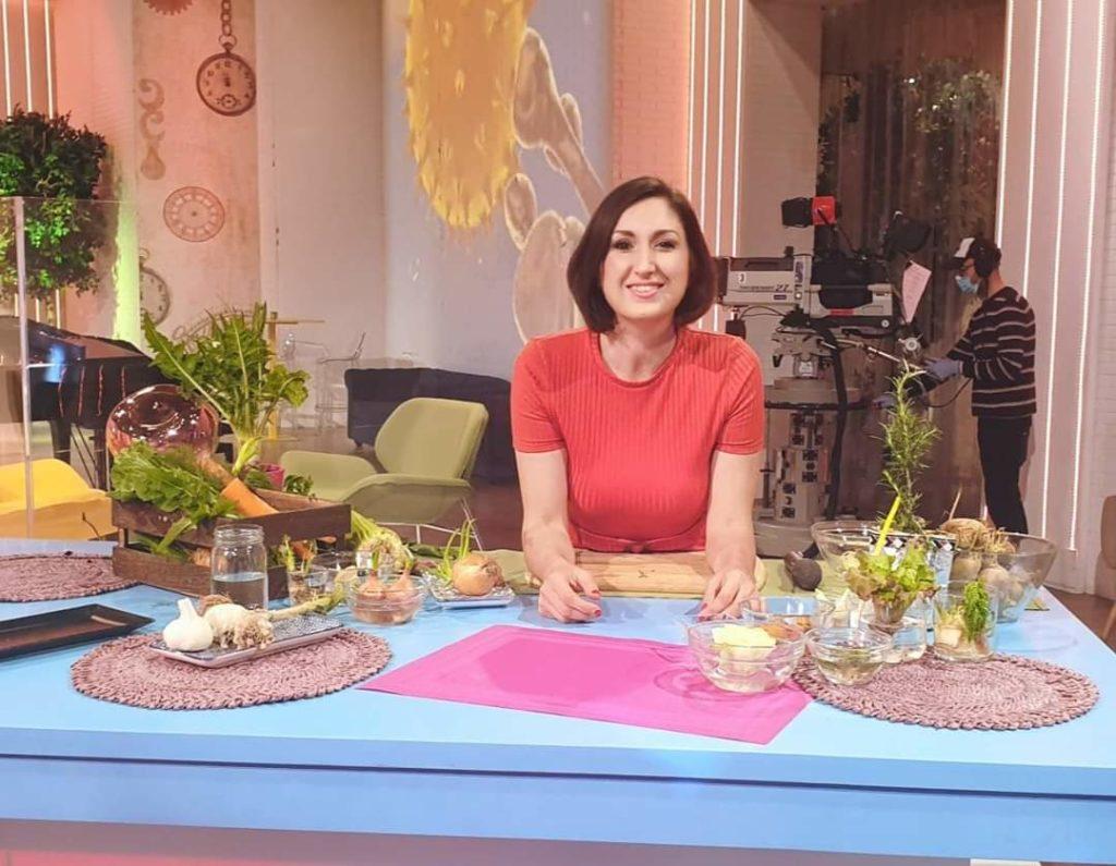 Lucia Cuffaro - Orto con scarti di verdure