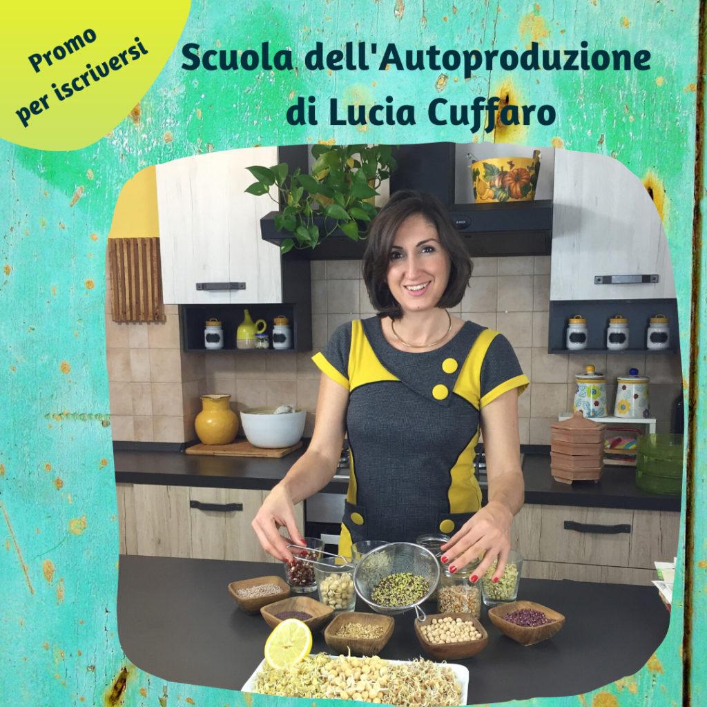 Promozione Scuola dell'Autoproduzione - Lucia Cuffaro