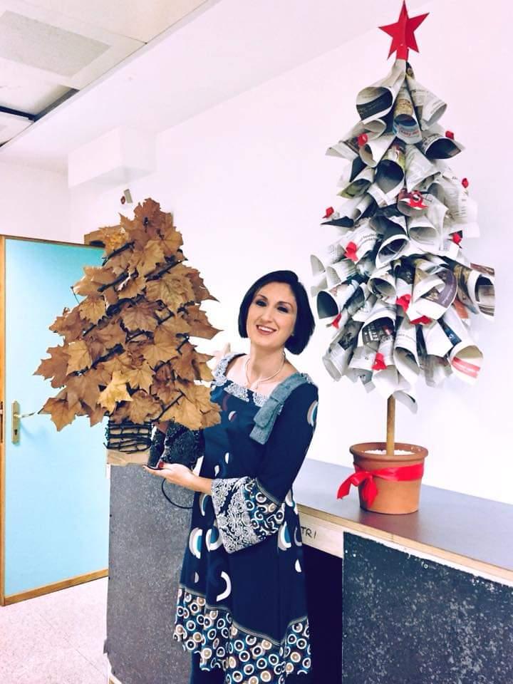 alberi di Natale Lucia Cuffaro