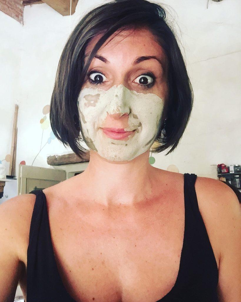 maschera all'argilla fai da te