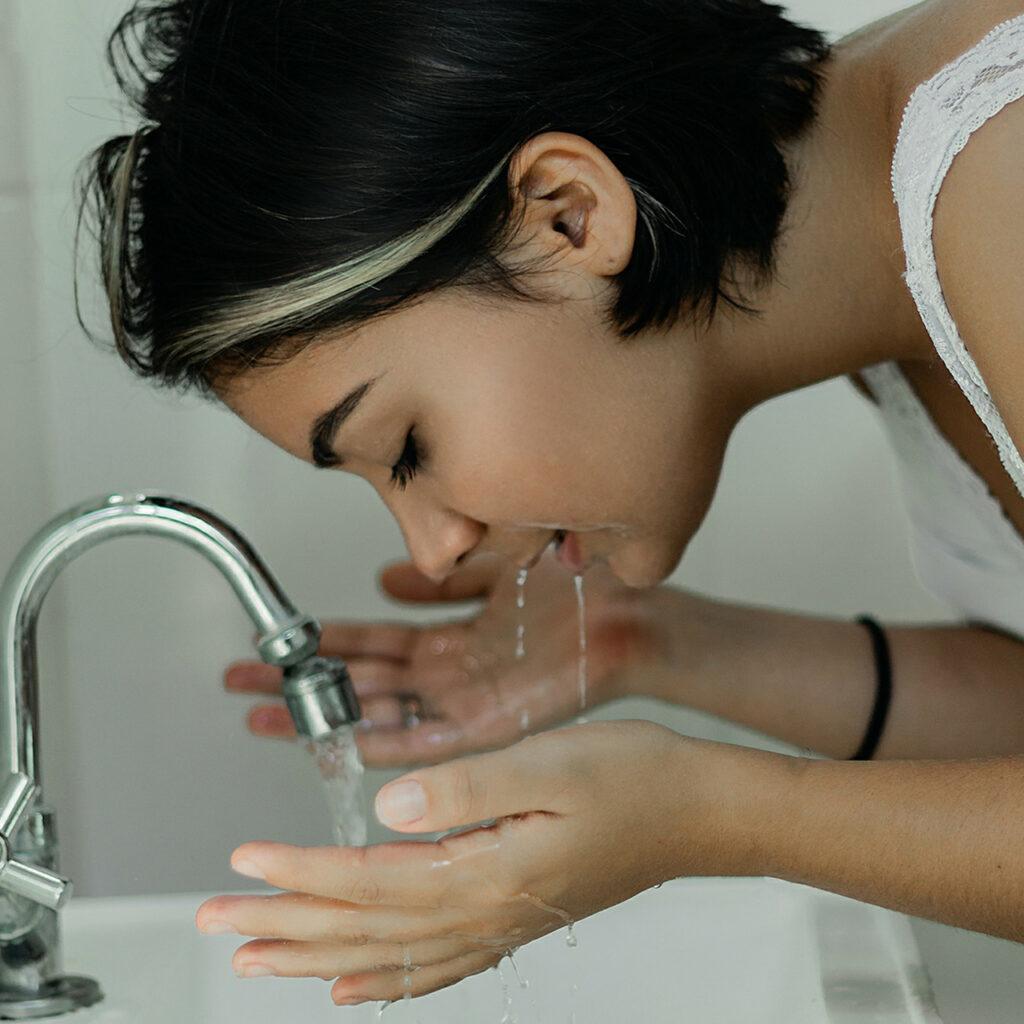 Detergente viso - Farina alimentare