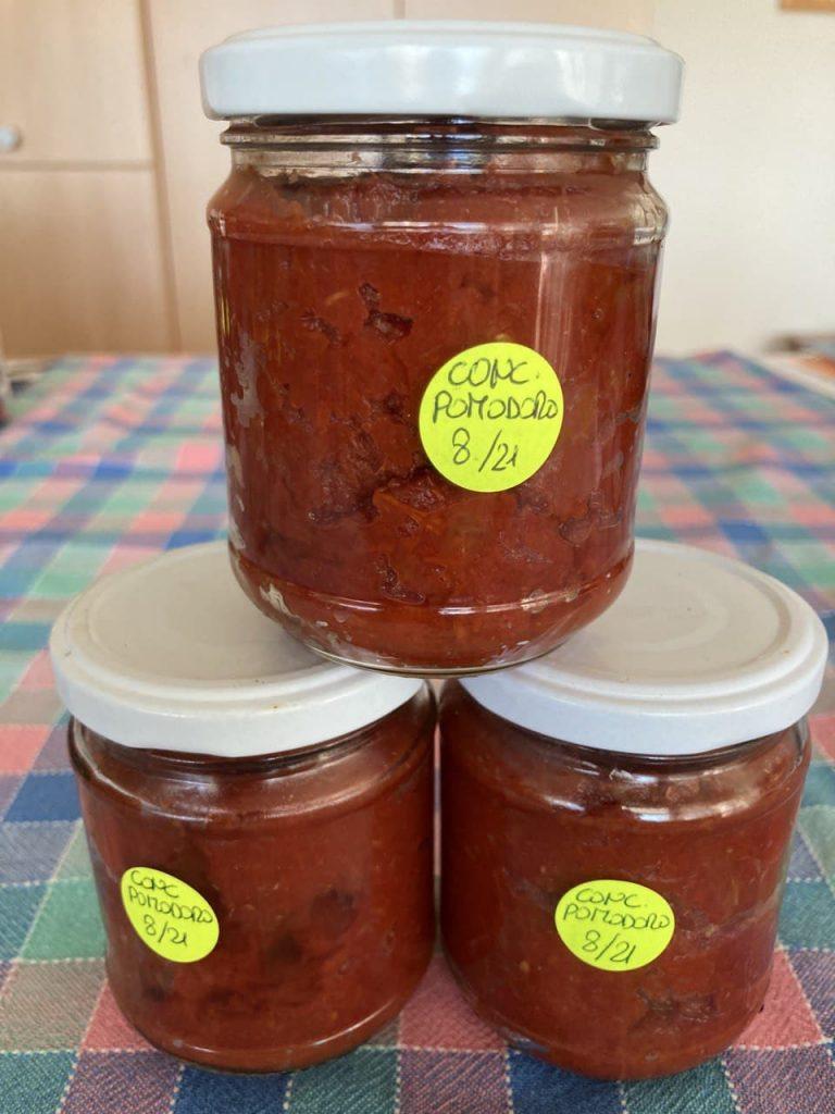 Passata di pomodori peretti - Vasetti