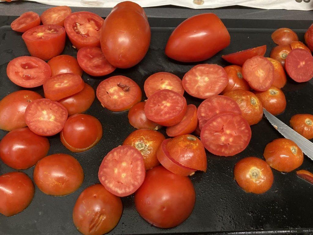 Salsa pomodoro - Taglio