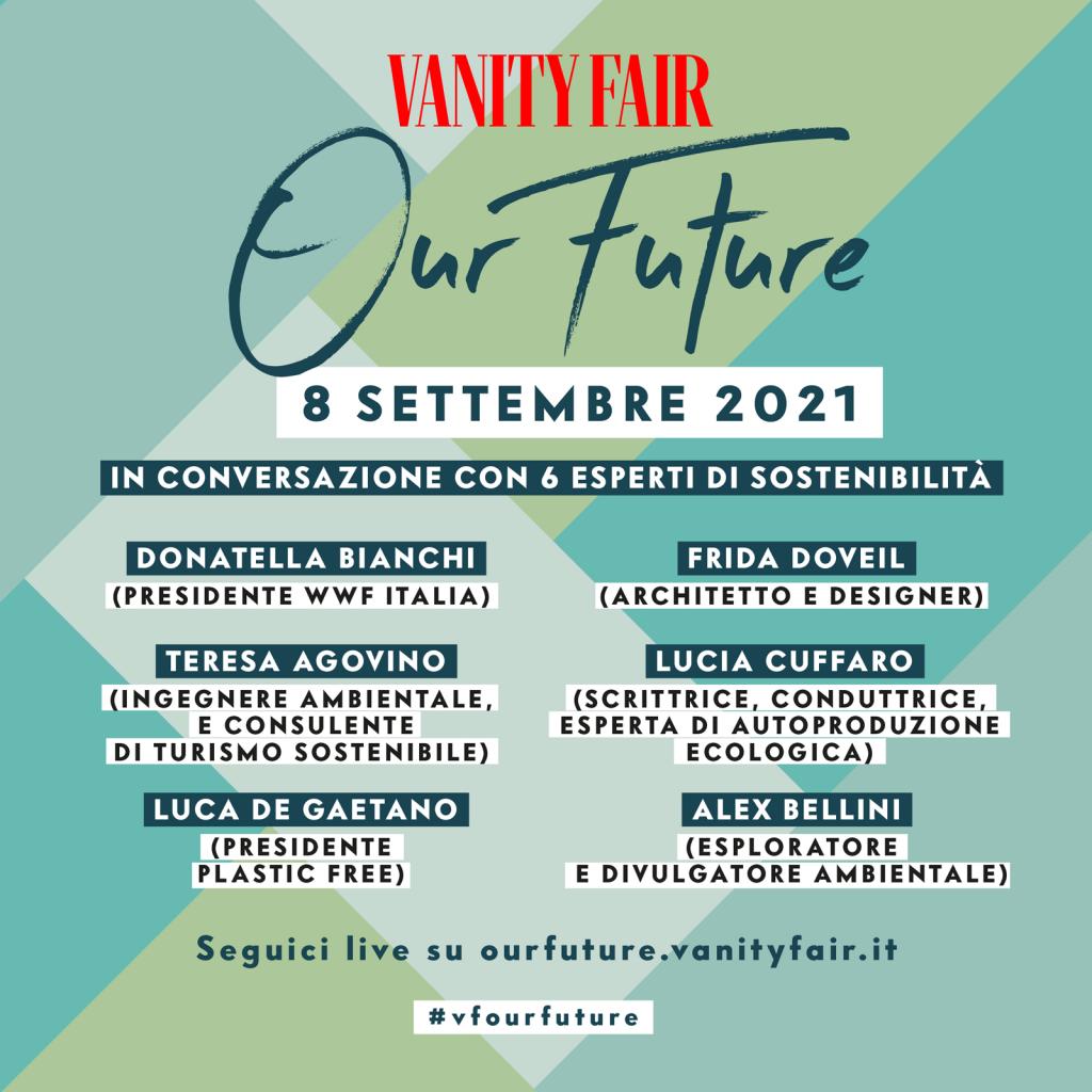 Vanity Fair - Our Future - Programma